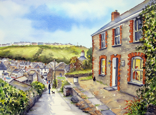 Jayne Russell Art Watercolours To Make You Smile